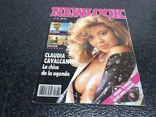 NEWLOOK Nº 32 CLAUDIA CAVALCANTI   Magazine vintage Spanish