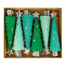 MERI MERI CHRISTMAS Tree Shaped Christmas Crackers (6 Pack)
