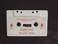 HOMESTAR GRANDPA TIME CLOCK AUDIO CASSETTE TAPE TITLED FAVORITE TALES WORKS