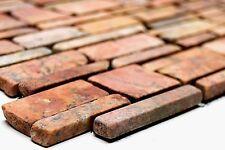 TERRACOTTA BRICK Mosaic tile MARBLE Rossoverona WALL Bathroom - 40-0220_b