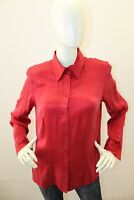 Camicia VERSE Donna Versace Shirt Seta Silk Soie Chemise Woman Taglia Size 42