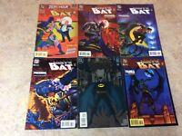 BATMAN SHADOW OF THE BAT #31,32,33,34,35,35 LOT OF 6 NM COMIC 1994-1995 DC