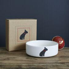 Sweet William Ceramic Dog Food Or Water Bowl / Dish FRENCH BULLDOG Design