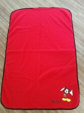 Used Baby Carry Blanket In Bag Mickey Mouse