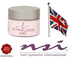 NSI Attraction Acrylic Nail Powder  Purely Pink Masque  40g    Brand New Pot
