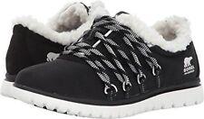 Sorel Cozy Go Womens UK 5.5 EU 38.5 Black Waterproof Fleece Trim Trainers Shoes