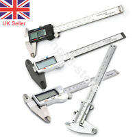 "6"" 150mm Digital Vernier Caliper Micrometer Stainless Steel Measurement Tool UK"