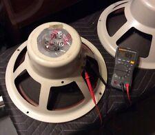"EV / Electro Voice 15"" Full Range Speakers SP15B 16 Ohm PAIR"