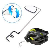 Fahrrad Fahrradspiegel Helmhalterung Rückansicht Rückfahrbrille*de