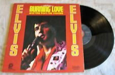 ELVIS Burning Love and Hits from His Movies Vol. 2 LP (RCA 1972) CAS-2595