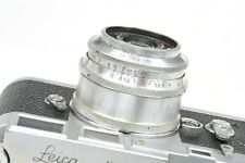 Lente Industar - 50 50mm f3, 5 P roja, M39 (L39) de montaje para Leica, Zorki telémetro