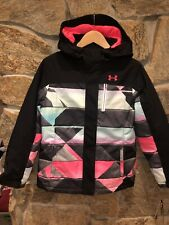 Under Armour Winter Ski Snowboard Youth Girls Jacket Insulated YLG Coat Storm