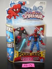 NEW! MARVEL ULTIMATE SPIDER-MAN POWER WEBS CROSSBOW CHAOS SPIDERMAN 2012 A8-13