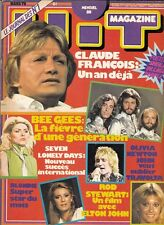 MAGAZINE HIT 1979 CLAUDE FRANCOIS BEE GEES ROD STEWART BLONDIE SHEILA BEATLES