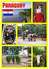 PARAGUAY - RECUERDO ORIGINAL Imán de NEVERA - MONUMENTOS/Ciudades - NUEVO /