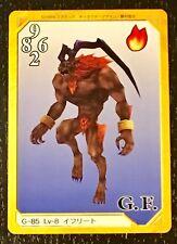 Final Fantasy 8 Triple Triad Ifrit G-85 Card