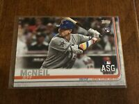 2019 Topps Update Baseball Rookie All-Star - Jeff McNeil AS - New York Mets