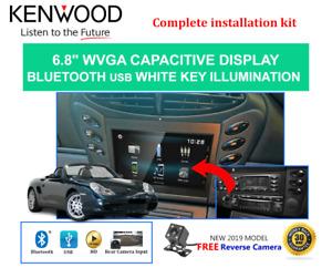 Kenwood DMX1025BT for Porsche Boxster 1998-2004 (986) Stereo Upgrade