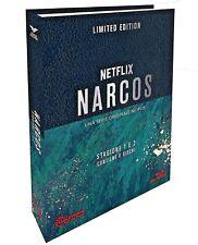 NARCOS - STAGIONE 1 e 2 LIMITED EDITION DIGIBOOK NUMERATA (6 BLU-RAY) SERIE TV