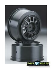 Team Associated SC10 JConcepts Rulux Rear Wheel (Black) (2) (SC10) JCO3318B