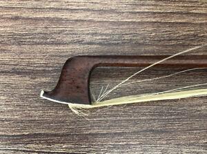 """Good Antique 4/4 Violin Bow For Restoration  29.5 """" 55.5 g"""