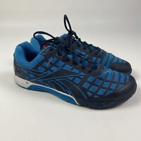 Reebok CrossFit CF74 Black/Blue Athletic Sneaker Shoes Mens Size 11.5 US