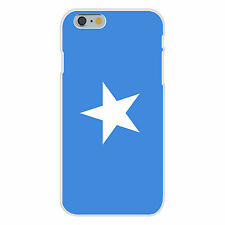 Somalia World Country National Flag Fits iPhone 6+ Plastic Snap On Case Cover