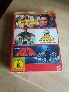 Disney Mighty Ducks 1-3 DVD Box Neu OOP Out of Print