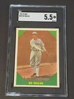 1960 Fleer #49 Ed Wilson SGC 5.5 New Label Recently Graded PSA BVS