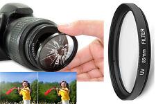 Filtre PRISMA UV Ø 55mm SKYLIGHT 1B ANTI UV CHOC MULTICOUCHE 1A 81A PROTECTION