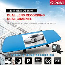 2017 5.0'inch Rear View mirror Reverse Camera Super night vision DVR 1080 Record