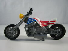 "PLAYMOBIL- ""DIFICIL MOTO CHOPER AMERICANA ESPECIAL HARLEY DAVIDSON CUST"" - LUJO!"
