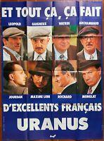 Plakat Uranus - Claude Berri Gerard Depardieu - Philippe Noiret Marielle