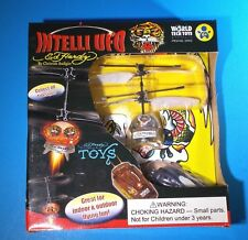 "ED HARDY INTELLI 5"" UFO SPECIAL EDITION FLYING TOY - AGES 6 and UP"