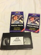 NOCTURNO SEX AND VIOLENCE 2 PIAZZA PULITA - PETE, PEARL AND THE POLE RARE VHS!