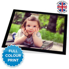 """Personalised Photo Gift Picture Glass Placemat Table Place Mat 