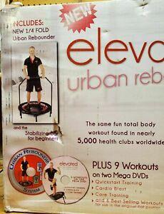 Urban Rebounding Extreme Metabolic Trampoline Bundle URX-MT 14 DVD Manual Kit