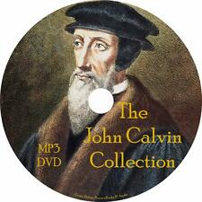 John Calvin Christian Institutes Audiobook Collection on 1 MP3 DVD Free Shipping