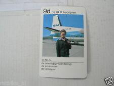 65-KLM AIRPLANE 9D DE NLM DE KLM BEDRIJVEN
