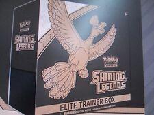 Pokemon SHINING LEGENDS ELITE entrenador Caja Sellada