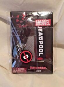 Marvel Avengers Monogram Deadpool Lanyard I.D. Holder