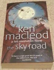 Ken MacLeod SIGNED The Sky Road (Paperback)