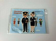 Aeroflot Russian Airlines Magnets Flight Attendants #1