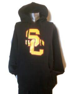 USC Trojans Tanker Black Men Pullover Hoodie Tanker SC