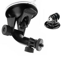 Car Windshield Suction Cup Mount Holder Stand Tripod Adapter For GoPro Hero BLS