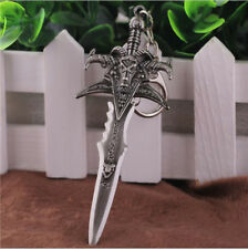 World of Warcraft Weapon Keychain Alloy Figure Frostmourne Sword High Quality