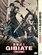 DVD GIBIATE COMPLETE TV SERIES VOL.1-12 END English Subtitle All Region+Tracking