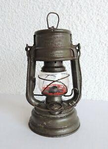 alt. Petroleumlampe Feuerhand 176 Spec. Super Baby Sturmkappe W. Germany Laterne