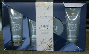 Champneys Relax Body Kit - Gift Set - NEW - Box Has been Battered