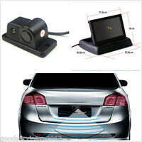 "120° Wide Angle Radar CCD Autos Reverse Backup Camera & Foldable 4.3"" HD Monitor"